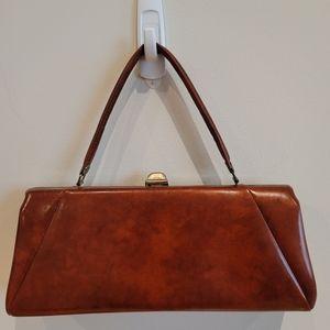 Faux Leather Handbag Clutch